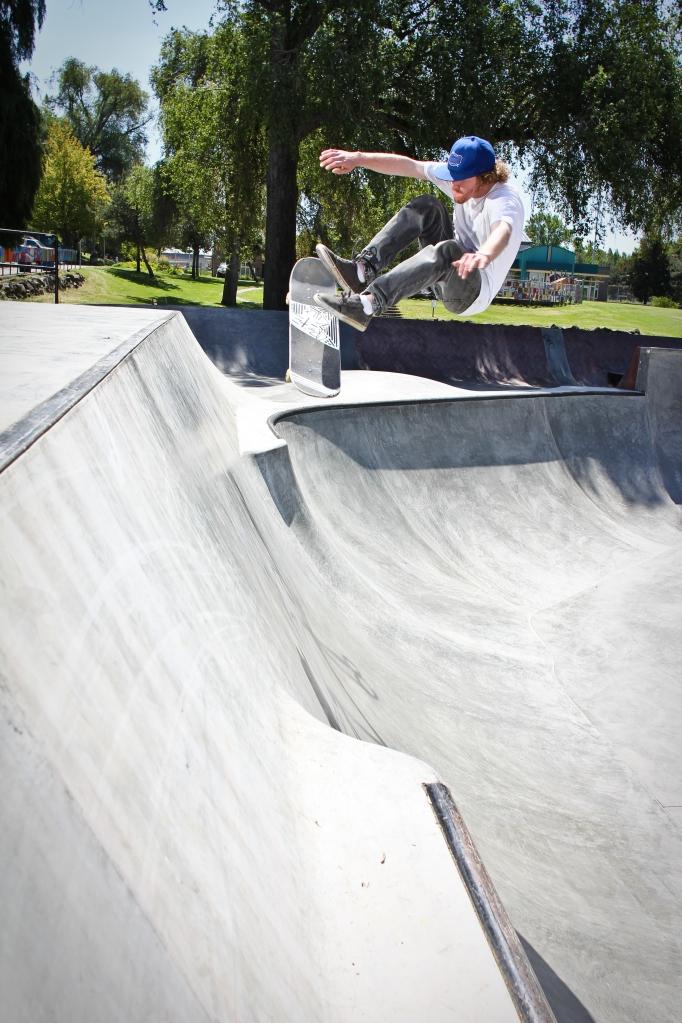 John Wicklander - Insane FS flip