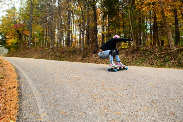 Time for me to shred! thanks Avery for shooting this photo! switch stalefish slide to the right turn :)