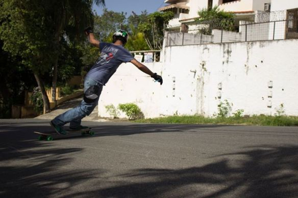 Miguel Cabreja with that toeside swagger