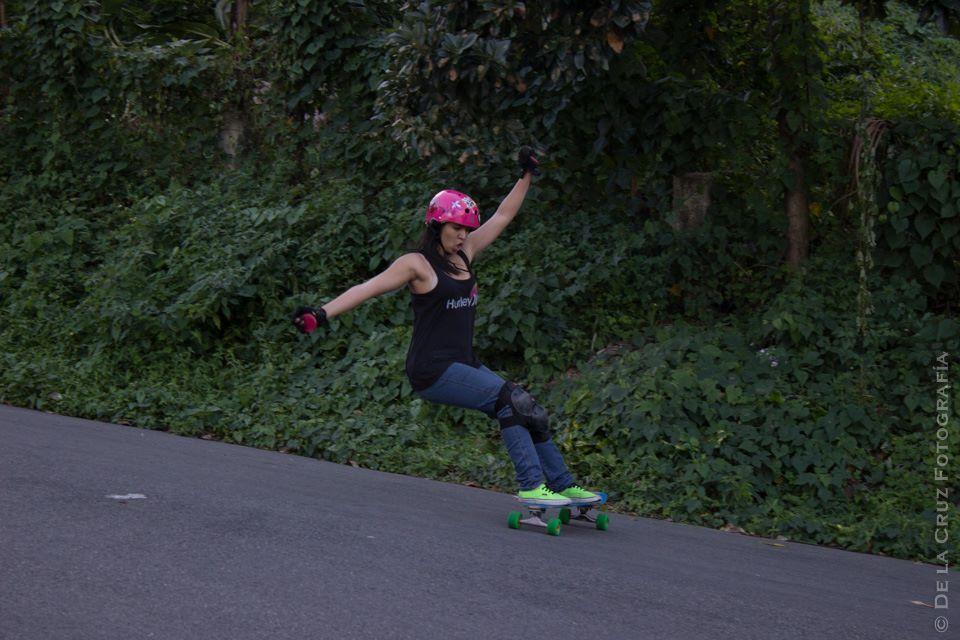Sarah Astacio getting sideways