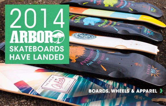 Arbor 2014 Longboards