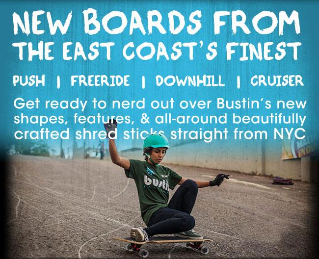 Bustin 2014 Longboards