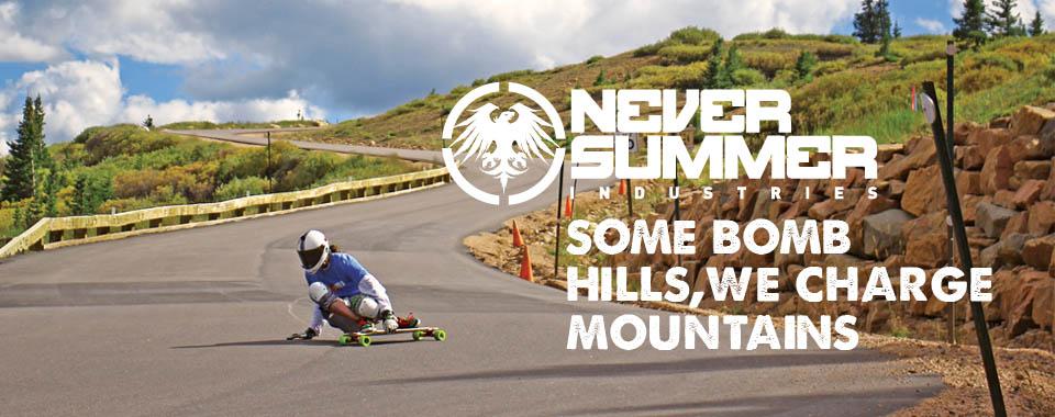 Never Summer 2014 Longboards