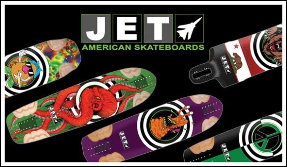 Jet Skateboards