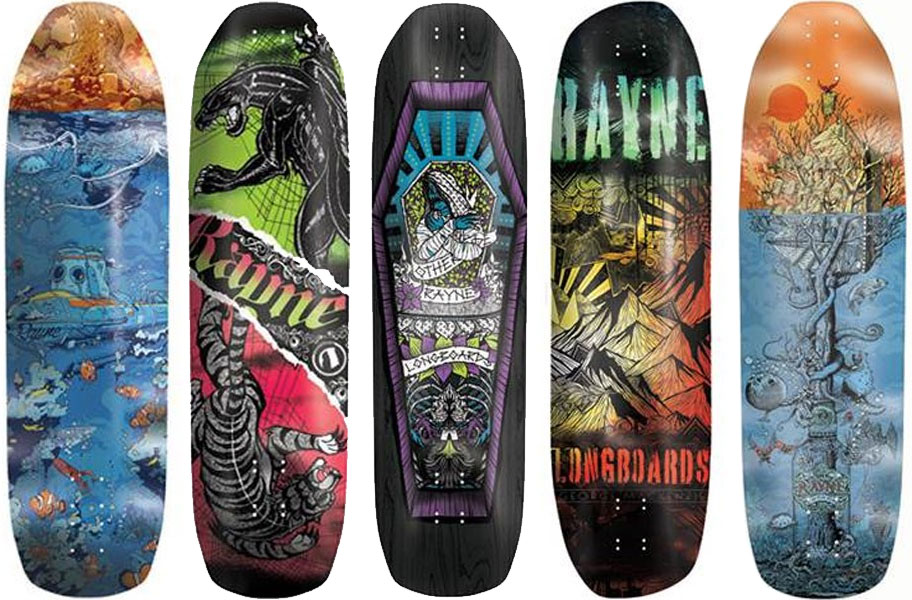 Rayne Summer 2014 Longboards